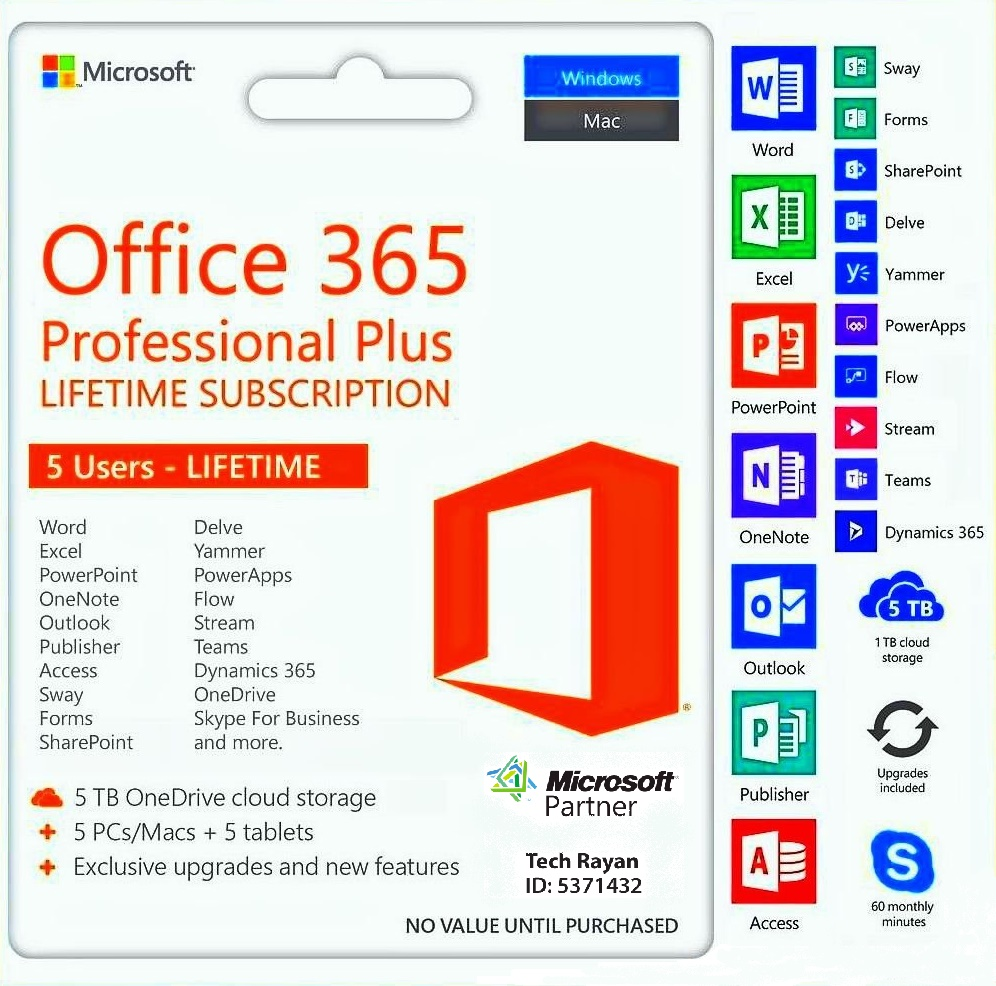 (Office 365 (5PC , 5TB